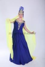 02224 Восточная красавица в синем