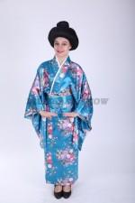 33645. Японское кимоно голубое