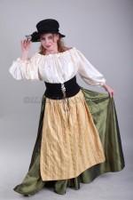 2096. Женский национальный баварский костюм