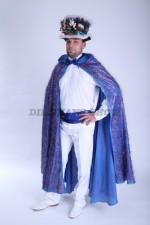 3658. Волшебник. Новогодний костюм для мужчины.