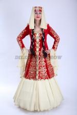 02292 Женский кавказский костюм