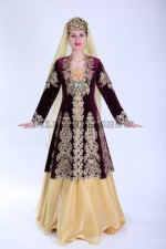 02291 Женский кавказский костюм