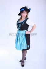 3760. Дириндль. Немецкий традиционный костюм.