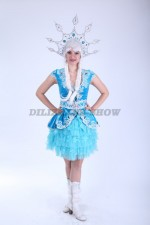 03514 Снежинка голубая