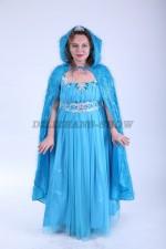 01373 Принцесса Эльза в голубой накидке