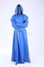 03124 Монах в синем