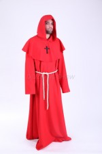 03139 Монах в красном