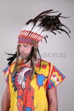 1703. Головной убор индейца
