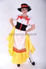 02292 Немецкий национальный женский костюм