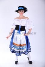 02295 Немецкий национальный женский костюм