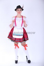 4008. Фройляйн Хейди. Баварский женский костюм.