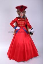 02959 Гусарский бальный костюм