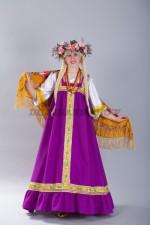 4142. Алёнушка. Русский народный костюм.