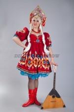 4530. Кадриль плясовая. Русский народный костюм.
