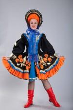 4535. Кадриль эстрадная. Русский народный костюм.