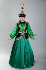 02082 Женский казахский национальный костюм