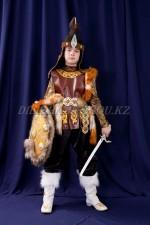 Костюм батыра с мехом