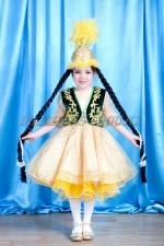 499. казахский костюм для девочек (2)