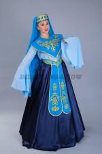 02296 Женский кавказский костюм