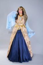 02294 Женский кавказский костюм