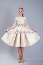 5056. Бальное платье в стиле 60х