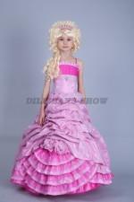 00183 Принцесса в розовом платье «Трифейна»