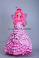 00181 Фея в розовом платье «Трифейна»