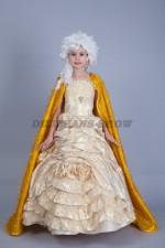 0079 Принцесса в золотом платье «Лорэйн 03»