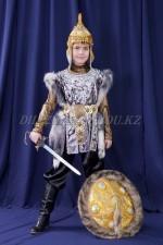 Казахский костюм серебрянный