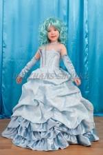 0377. Бальное платье Королевское голубое
