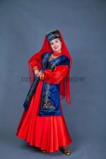02325 Женский татарский национальный костюм
