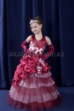 """00911 Бальное платье """"Капризная принцесса 04"""""""