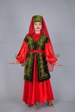 02324 Женский татарский национальный костюм