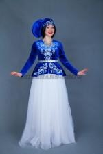 02327 Женский татарский национальный костюм