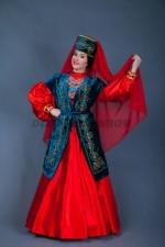 02328 Женский татарский национальный костюм