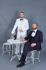 02050 Мужские классические костюмы