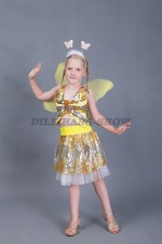 00192 Бабочка золотая