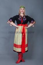 5703. Женский костюм в русском стиле