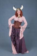 02681 Женский костюм для вечеринки в стиле викингов
