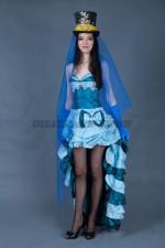 02686 Женский костюм для кабаре. Платье трансформер.
