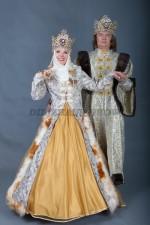 5751. Парные костюмы в русском стиле.Боярин с боярынькой