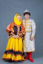02674 Русские костюмы для пары