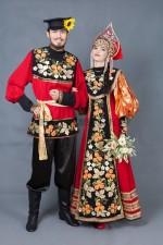 02677 Русские парные костюмы