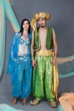 5822. Жасмин и Аладдин. Парные костюмы.