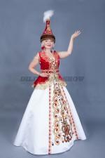 02063 Казахский национальный костюм