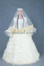 02845 Свадебное платье на Кыз Узату