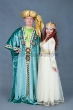 01580 Парные костюмы в восточном стиле