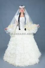 02847 Свадебное платье на Кыз Узату