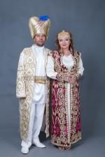 01577 Султан Сулейман в белом и Хюрем