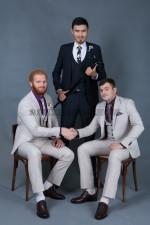 02003 Мужские классические костюмы